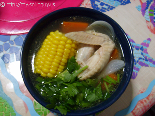 Chicken Soup With Corn